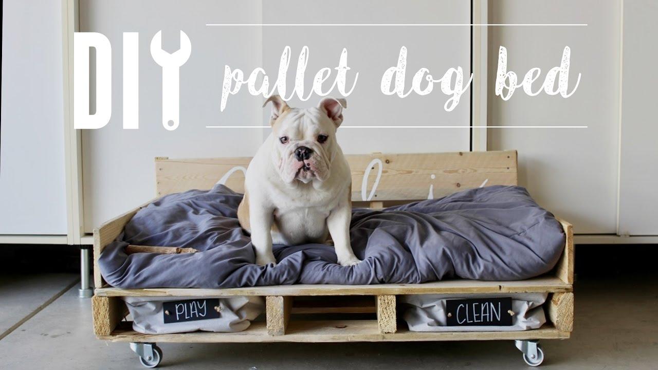 Postel pro psy z palety