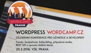 Pozvánka na WordCamp Praha 2016