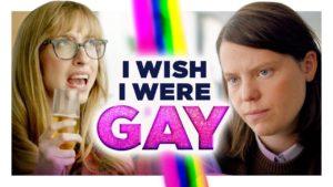 Přál bych si být gay