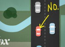 Proč byste neměli jezdit pomalu v levém pruhu
