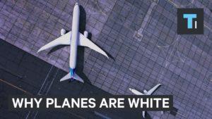 Proč je většina letadel bílá?
