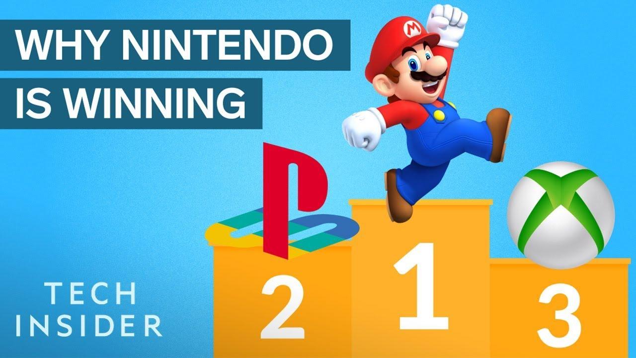 Proč Nintendo dominuje video hrám