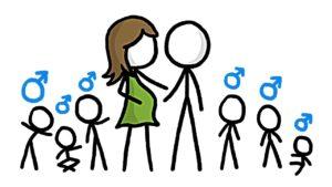 Proč se rodí více kluků než holek