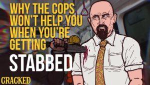 Proč vám policie nepomůže, když vás pobodají