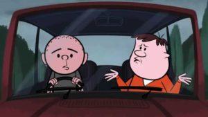 Ricky Gervais Show – Auto se záchodem
