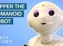 Rozhovor s robotem Pepperem