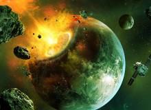 Simulace pádu asteroidu na Zemi