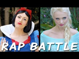 Sněhurka vs. Elsa: Rapový duel princezen