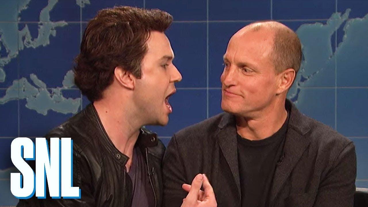 SNL: Matthew McConaughey a Woody Harrelson o natáčení Temného případu