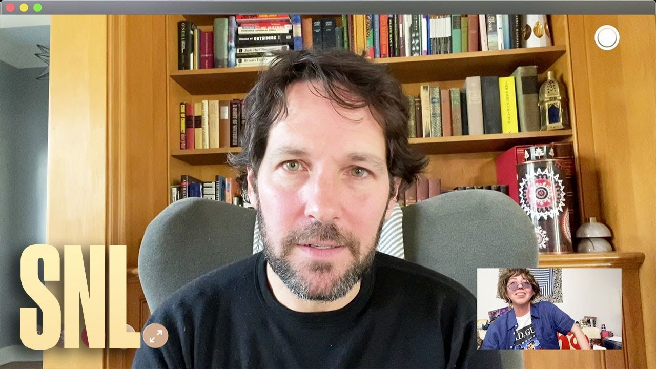 SNL – Videochat s Paulem Ruddem