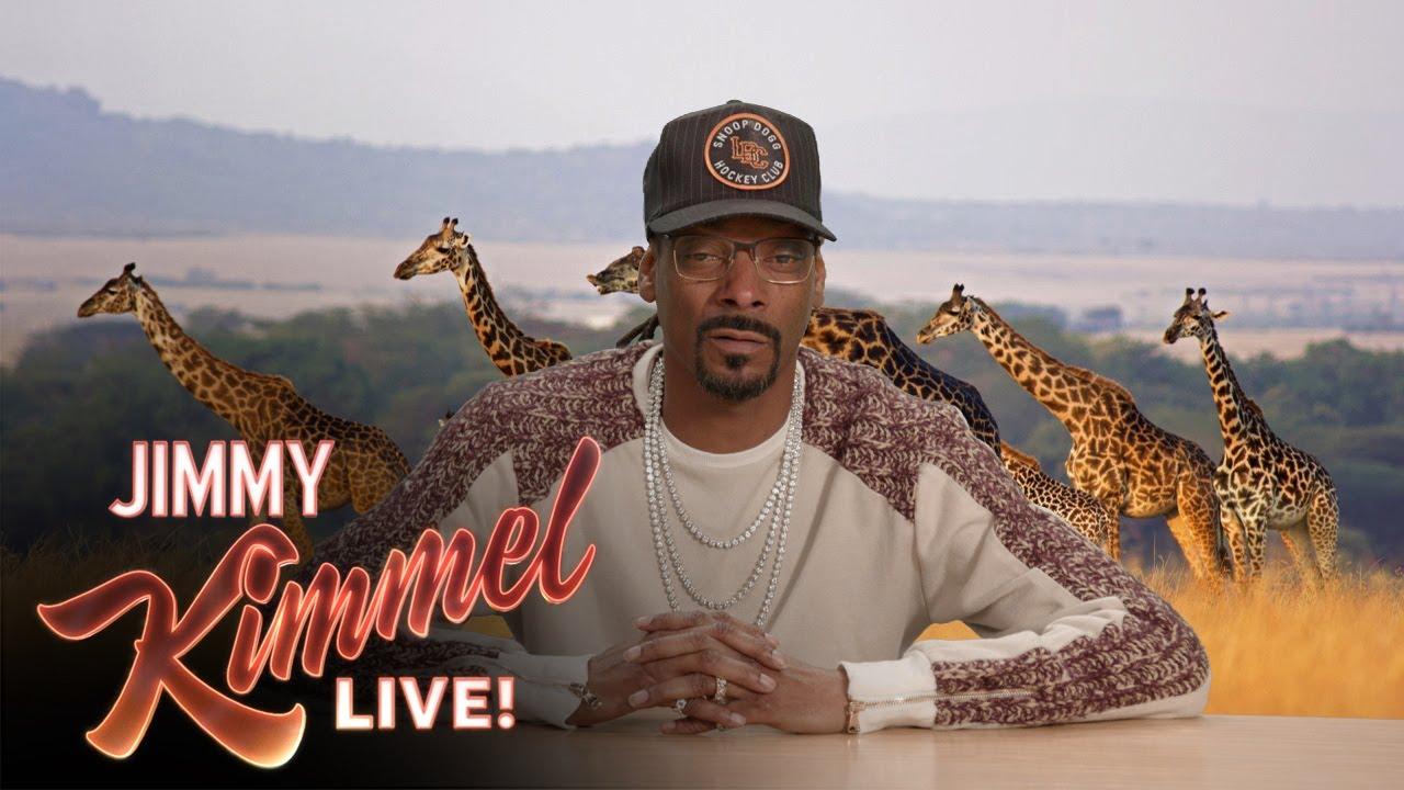 Snoop Dogg jako komentátor pořadu o přírodě