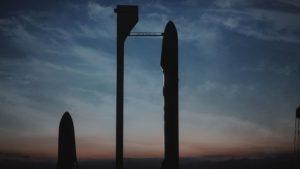SpaceX meziplanetární transportní systém