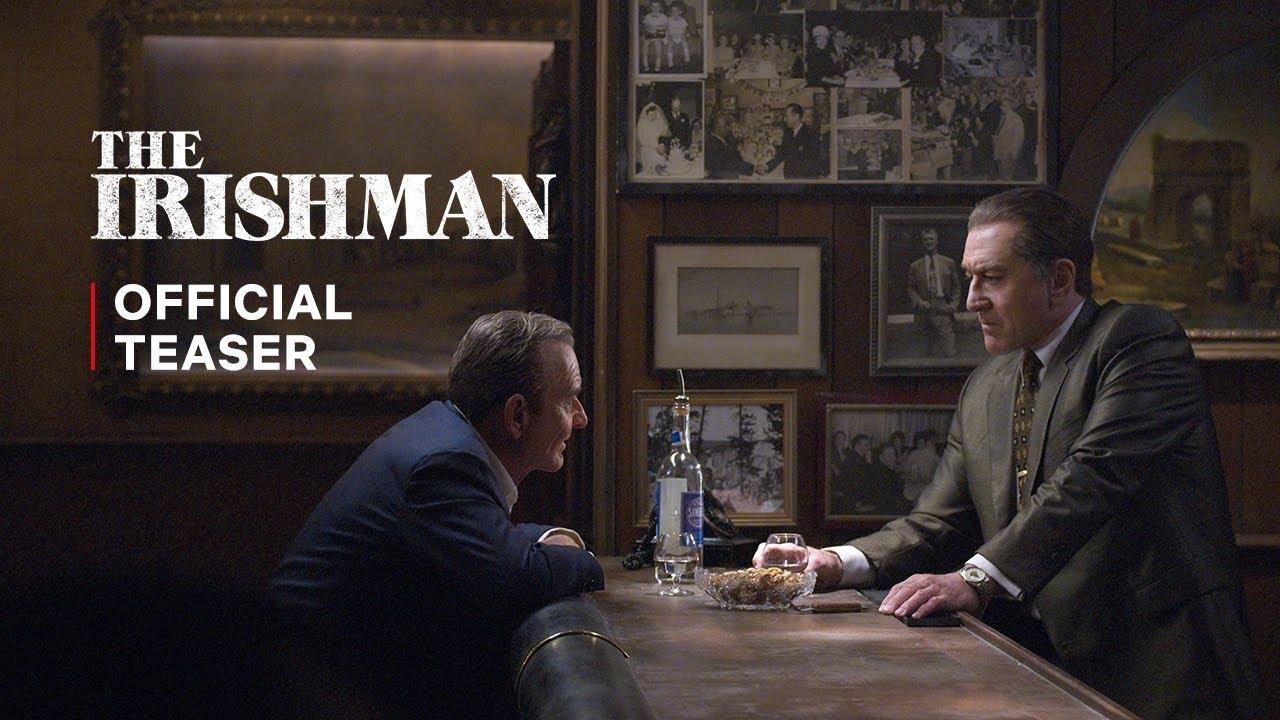 The Irishman – oficiální teaser
