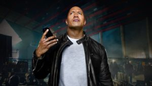 The Rock v reklamě na iPhone7