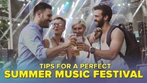 Tipy pro letní hudební festival