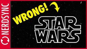 Tohle logo není Star Wars logo