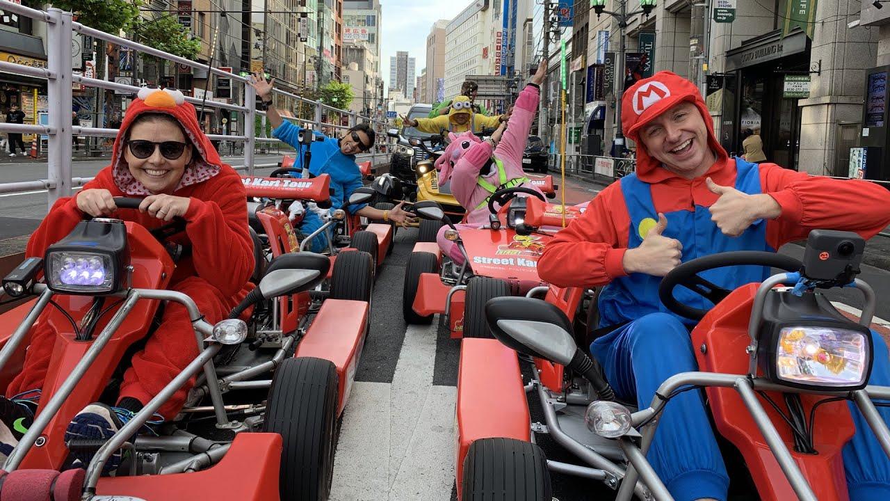 Tokiem jako ve hře Mario Kart