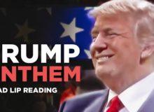 Trumpova špatně odezíraná hymna