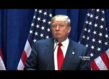 Trumpův projev bez řeči