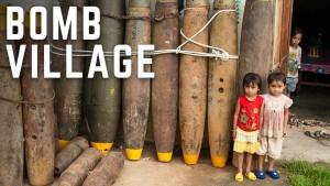 Vesnice postavená z bomb
