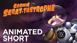 Veverka Scrat ve vesmíru