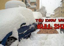 Víš, co je na hovno? Sníh