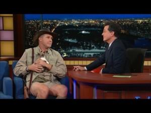 Will Ferrell u Stephena Colberta