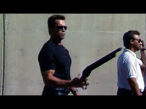Z natáčení: zbraně v Terminátorovi 2