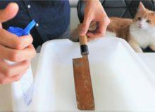 Ze zrezlého nože výstavní kousek