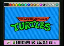 Želvy ninja a jejich animovaná znělka kompletně v malování