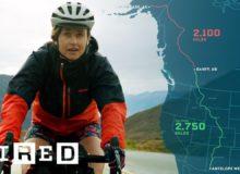 Žena, která ujede na kole 32 000 km za rok